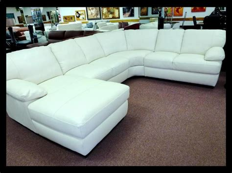 White Loveseats For Sale by Natuzzi Editions White Leather Sectional B594 25 Grade
