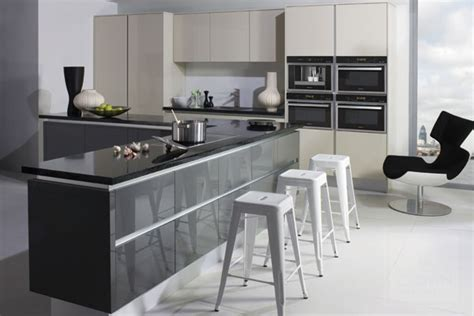 grey gloss kitchen cabinets gloss kitchens archives page 2 of 3 kitchenfindr 4064