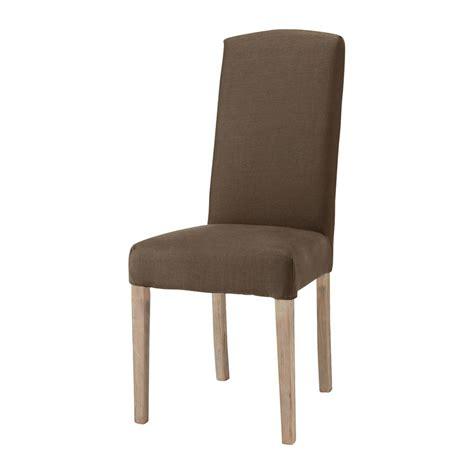 maison du monde housse de chaise housse de chaise en marron maisons du monde