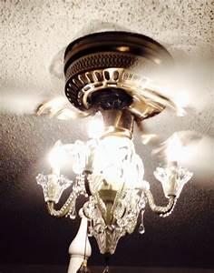 Little bitty damn houze new chandelier ceiling fan light kit