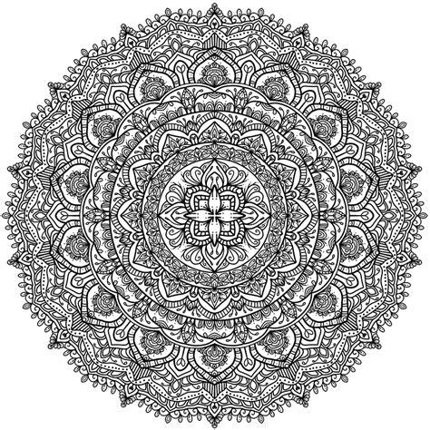 Coloring Krita by Krita Circles Mandala 9 Coloring Pages Coloriage