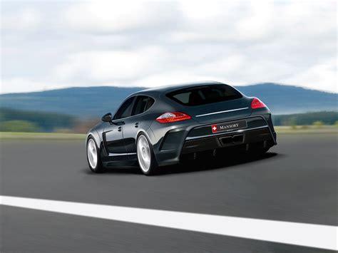Mansory Porsche Panamera Exposed