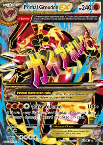 Giratina Ex Deck 2016 by Primal Groudon Ex Pokemon Cards Images Pokemon Images