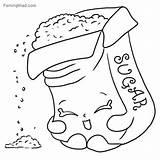 Coloring Pages Sugar Printable Shopkins Getdrawings Getcolorings sketch template