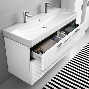 Waschtisch Hängend Mit Unterschrank : doppelwaschtisch mit unterschrank wei ~ Bigdaddyawards.com Haus und Dekorationen