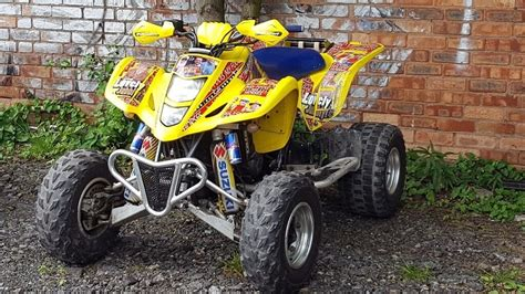 suzuki ltz  road legal quad bike   ltr  yfz