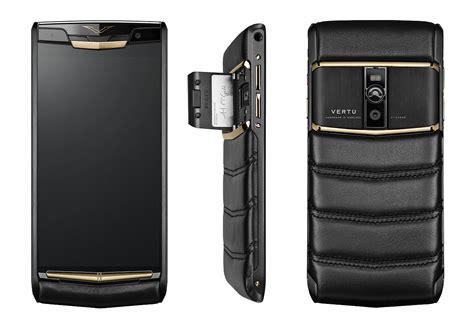 vertu luxury vertu launches new signature touch luxury phone