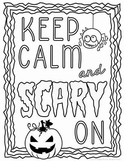 Coloring October Halloween Printable Sheets Oktober Ausmalbilder