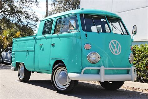 1963 Vw Double Cab Type 2 Pickup Truck For Sale