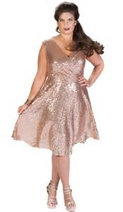 HD wallpapers plus size rose gold dress