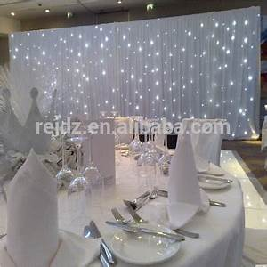 Indoor Wedding Decor Muslim Wedding Decoration White