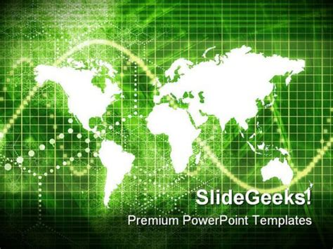world economy background powerpoint templates