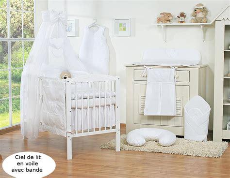 ou acheter chambre bébé tour de lit bébé 120 60 ou 140 70 blanc à coeurs