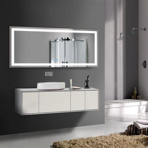 Large Illuminated Bathroom Mirror by Led Mirror The Mirror Guide