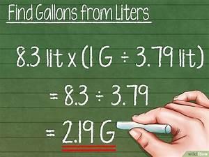 Kubikmeter Berechnen Liter : gallonen berechnen wikihow ~ Themetempest.com Abrechnung