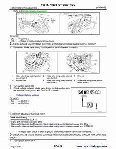 Nissan Service Manuals