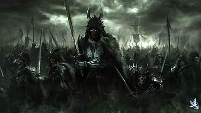 Demon King Wallpapers Dark Fantasy Warrior Skull