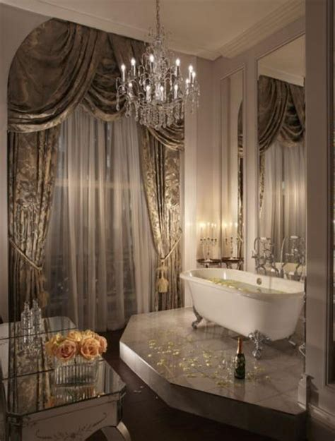 glam bathroom ideas lush fab glam blogazine home spa bath never looked