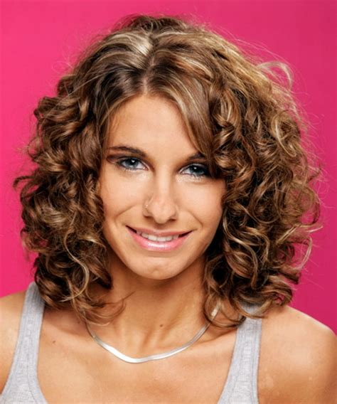 medium curly haircuts for curly medium length hairstyles 2015