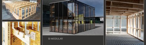 Si Modular Haus by Wood Framing System Developed By Si Modular