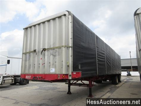 Used Fontaine Conestoga Curtain Side Trailer For Sale