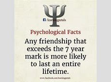 Interesting Psychological Facts about Yourself