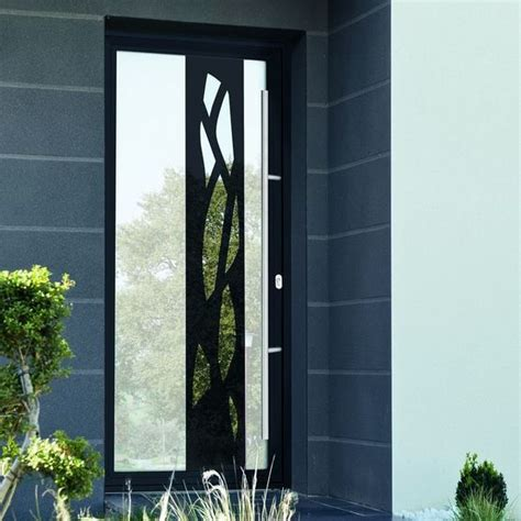 porte d entrée en metal portes d entr 233 e vitr 233 e avec effet miroir et monoblocs avec
