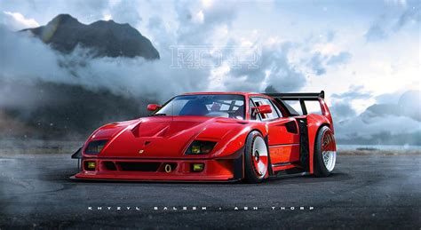 Ferrari F40-R Rendered: What's Even More Hardcore than an ...