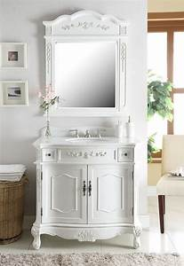 36quot classic style antique white fairmont bathroom sink With classic vanities bathrooms