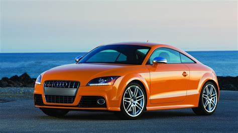 Audi Tt Coupe 4k Wallpapers by Audi Tt Coupe Orange Color 4k Iphone Wallpaper 4k Cars
