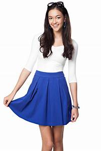 Blue Skirt   Dressed Up Girl