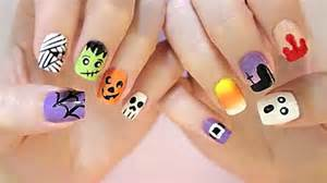 Diy halloween nail art for short nails