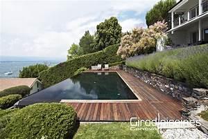 Combien Coute Une Piscine Intérieure : contemporaine girod piscines gen ve ~ Premium-room.com Idées de Décoration