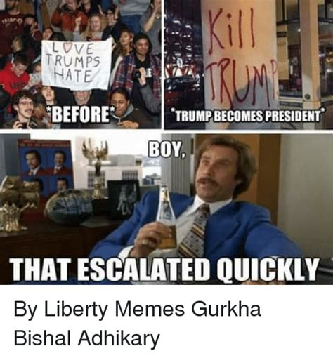 Boy That Escalated Quickly Meme - 25 best memes about gurkha gurkha memes