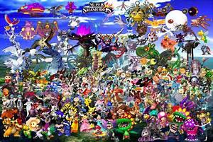 Super Smash Bros Collaboration By DarkKnight215 On DeviantArt