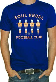 soul rebel foosball club t shirt