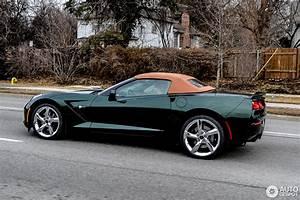 Corvette C7 Cabriolet : chevrolet corvette c7 stingray convertible 27 february 2014 autogespot ~ Medecine-chirurgie-esthetiques.com Avis de Voitures