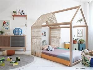 Lit Maison Enfant : lit cabane esprit montessori choisir lit cabane chambre ~ Farleysfitness.com Idées de Décoration