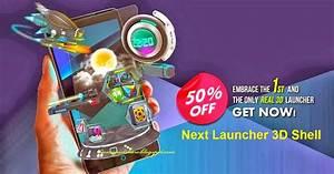 Launcher  Next Launcher 3d Shell V3 10 Apk