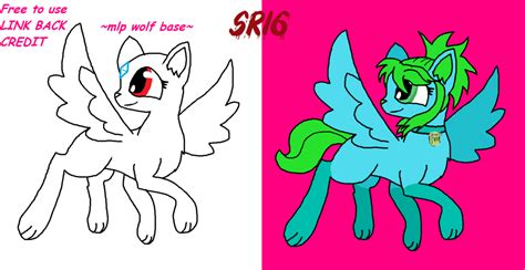 Mlp Wolf Base 3 By Superrosey16 On Deviantart
