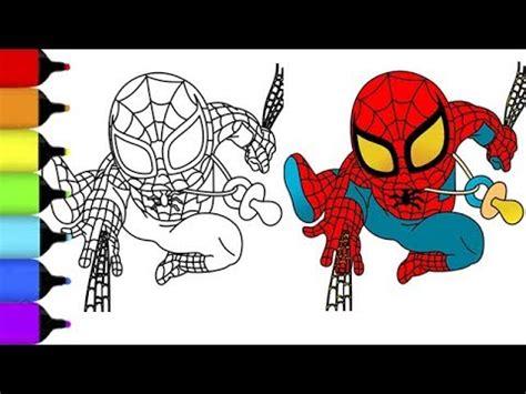 Hombre Araña Para Colorear