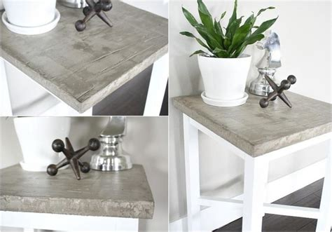 tisch in betonoptik die besten 25 tisch betonoptik ideen auf g 228 ste wc modern badezimmerwaschtisch mit