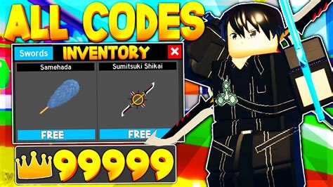 secret codes  anime fighting simulator roblox