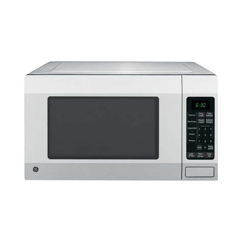 countertop microwave stainless steel ge 1 6 cu ft countertop microwave oven in stainless