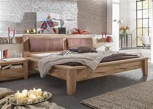 Bett 180 X 220 : bett 180x200 cm tina landhausstil asteiche massiv ge lt kaufen bei kapa m bel ~ Whattoseeinmadrid.com Haus und Dekorationen