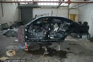 Stolen Luxury Cars Broken Down To Their Component Parts In