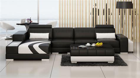modern living room leather sofa living room leather
