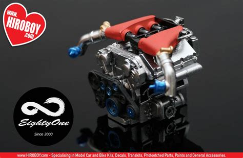 nissan vrdett resin engine kit  gt  engine