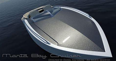 Just Add Water Boats Manta by Eco Boats Manta Bay Cruiser Electric Boat Made From Bio