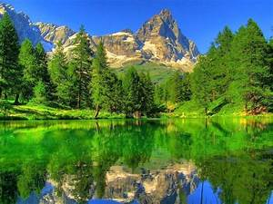 Pretty Landscape Wallpapers Mountains Rocks Beautiful ...